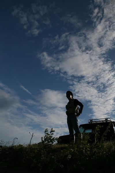 マコト、荒川にて.jpg