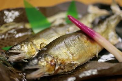 寒河江川のアユ(鮎).jpg