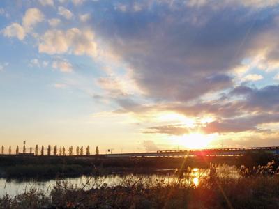 荒川の夕日.jpg